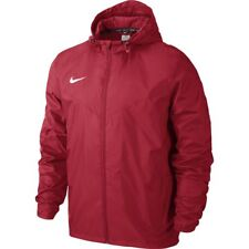 Nike Boys Kids Sideline Rain Jacket Hooded Waterproof Coat Wind Breaker Hoodie