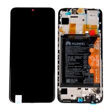 VETRO DISPLAY LCD TOUCH SCREEN + FRAME + BATTERIA ORIGINALE HUAWEI P SMART 2019