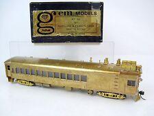 Gem Models HO Brass Maryland & Pennsylvania Gas Electric Locomotive, KT-101