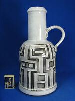 "Rare 70´s design Ceramano ""Polaris"" Keramik pottery jug vase Krugvase 251  30 cm"