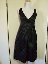 SALE blanc   dress black satin  NWT $169.99  LBD races, parties  work!