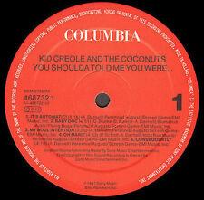 KID CREOLE AND LE NOIX DE COCO - Vyou Il Vous Dit Me vYou ont été - Columbia