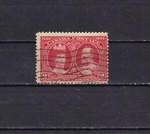 P3159 - CANADA 1987 - FONDAZIONE QUEBEC  N. 87 USATO