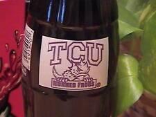 TCU Horned Frogs Football 1998 coke bottle