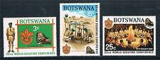Botswana 1969 Scout Conference SG 253/5 MNH