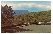 SHENANDOAH VA Skyline Drive Overlook Vtg 1950's Cars
