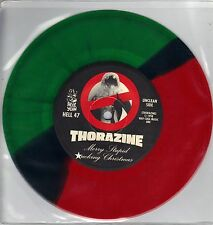 Thorazine - Merry Stupid Christmas - Hell Yeah 7 Inch COLORED Vinyl Record NEW