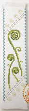 Zealand Koru Fern - Semco Counted Cross-stitch Bookmark Kit