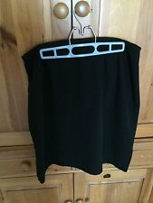 Style & Company Size 16 Black Lined Skirt Pre-Owned