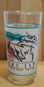 119th Kentucky Derby Commerative Glass