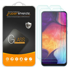 [2-Pack] Supershieldz Tempered Glass Screen Protector for Samsung Galaxy A50