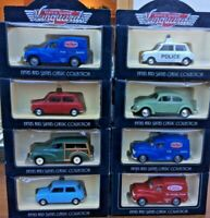 LLEDO x 8 DG65 Morris Minor Traveller DG69 M/M Van DG72 VW Beetle DG74 Mini Boxe