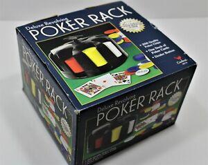 CARDINAL Deluxe Revolving Poker Rack 200 Quality POKER Chips