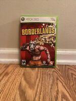 Borderlands (Microsoft Xbox 360, 2009) Pre-owned