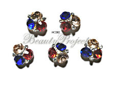 5pc Nail Art Charms 3D Nail Rhinestones Decoration Jewelry DIY Bling - C282