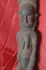 Old Papua New Guinea Carved Wooden Ancestral Figure…  wonderful ageing & patina