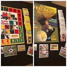 Panini Africa cups 2008/2010- 2 fullsets+2 empty albums - Excellent -original