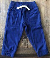 Gymboree 4T 5T Shark Fish Print Swim Trunks Cadet Blue Drawstring Boys UPF 50