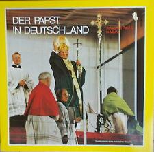 LP DER PAPST IN DEUTSCHLAND  JOHANNES PAUL II. IN MAINZ ,NEAR MINT,gewaschen,Rar