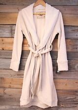 UGG Australia Womens Duffield Oatmeal Heathered Cotton Leisure Robe L Large NEW!