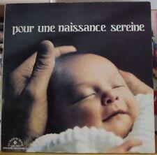 SAVITRY NAIR/LEBOYER POUR UNE NAISSANCE SEREINE FRENCH LP LE CHANT DU MONDE 1973