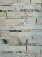 briques en pierre naturelle Autoadhésif 3D 15x60cm Macedonian Schistes murale