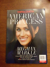 TOWN & COUNTRY AMERICAN PRINCESS MEGHAN MARKLE 2018 MAGAZINE  NEW