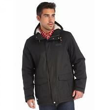 Regatta Jacket Sternway Mens Fleece Lined Waterproof Hydrafort Coat Black 2xl