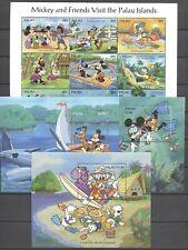 Walt Disney - Palau-Inseln - 775-783, Bl.33-35 ** MNH 1994 !