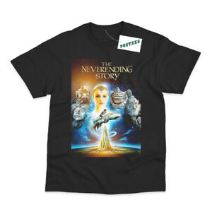 Retro Movie Poster Inspired By The Never Ending Story DTG Printed T-Shirt