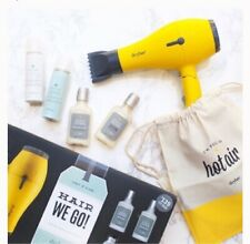 nib DRYBAR ® Hair We Go Travel Essentials BABY BUTTERCUP Travel Dryer set