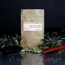 Organic Chlorella Capsules 1000mg (no extracts)