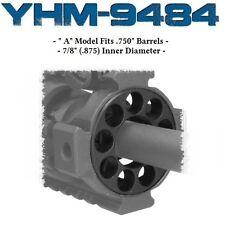 "YHM Round Forearm Endcap  - 7/8 "" .875 Diam  - YHM-9484 MODEL A - END CAP"