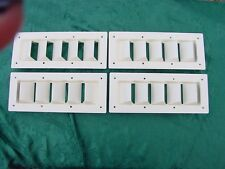 """BOAT VENT LOUVER 14"""" BILGE LOUVER SEA RAY MANY OTHERS ! FOUR PACK SPECIAL! SAVE!"""