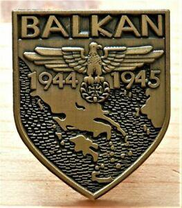 Rockers , Biker Badge , motorcycle, eagle with Maltese Cross BALKAN '44 - '45