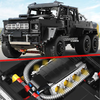 Custom Technic G 63 6X6 65 500 42056 42083 42099 Building Blocks Bricks MOC