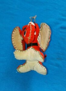 Hanging Miniature Dream Pet Red Elephant w String