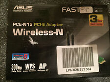 Asus PCE-N15 Wireless-N300 PCI Express Adapter