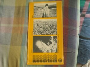 WOODSTOCK PORTUGAL CINE PROGRAM JIMI HENDRIX WHO TEN YEARS AFTER SLY STONE BAEZ