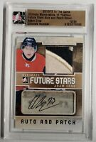2012-13 ADAM ERNE ITG ULTIMATE FUTURE STARS AUTOGRAPHED PATCH CARD #12/24