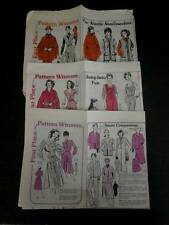 VTG 80's Mail Order First Place Winners Pattern Catalogs Lot of 3 Women Child