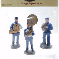 Lemax 2004 Police Band Set Of 3 Coventry Cove #42962KM Village Figurines Retired