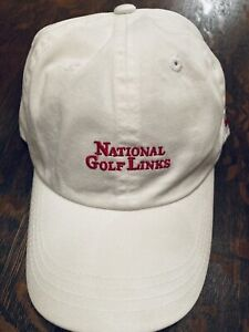 New NGLA National Golf Links White Imperial Hat Cap American Needle Shinnecock