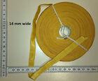 Imperial Germany Unteroffizier Kragentresse - 16mm - 1 Meter golden metal braid