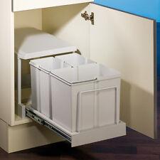 müll- & abfalleimer mit 3 fach 30 l küche | ebay - Abfalleimer Küche Einbau