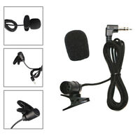 Universal Portable 3.5mm Mini Headset Microphone Lapel Lavalier Clip Microphone