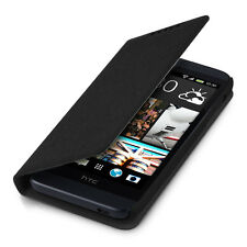 FLIP COVER FOR HTC DESIRE 510 BLACK CASE SLIM BACK SHELL HARD MOBILE PHONE