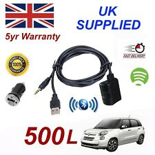 Fiat 500L Bluetooth Streaming Music Module & 1.0A Power Adapter For Samsung HTC