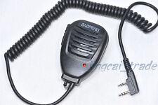 Heavy DUTY altavoz micrófono para BAOFENG De Hombro De Mano UV-5R Radio Kenwood Wouxun