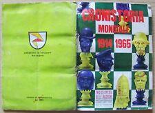ALBUM FIGURINE CRONISTORIA MONDIALE 1914-1965 - La Folgore, 1966 COMPLETO (-17)*